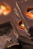 Caseiro chocolate com pimenta — Fotografia Stock