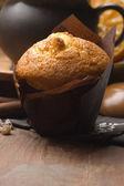 Domowe babeczki cynamonem z kawy — Zdjęcie stockowe