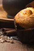 Muffin cannella e caffè — Foto Stock