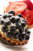 French cake with fresh fruits — Stock Photo