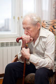 Sad Old Man — Stock Photo