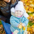 Family In Autumn Park — Stock Photo #8359776