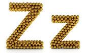 Z letter — Stock Photo