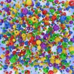 Spheres background — Stock Photo