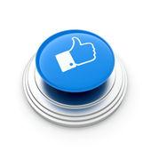"""Like"" button — Stock Photo"