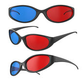 3d glasses — Stock Photo