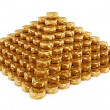 Coins Pyramid — Stock Photo