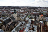 Lviv Aerial View — Photo