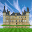 Chateau in loire valley, France, Europe. — Stock Photo #8288014