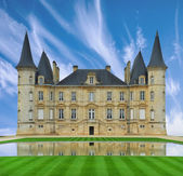 A chateau in the loire valley, France, Europe. — Stock Photo
