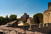 Tomar Old Town Castle — Stock Photo