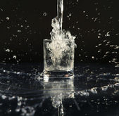Black water — Stock Photo