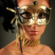 Mysterious mask — Stock Photo