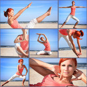 Pilates 1 — Foto de Stock
