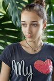 十几岁的女孩 — 图库照片