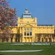Art Pavilion in Zagreb, Croatia — Stock Photo #10457905