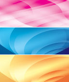Bright vector abstract backgrounds — Stock Vector