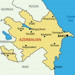 Republic of Azerbaijan - vector map — Stock Vector #9935746
