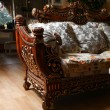 Carved sofa — Stock Photo #10002495