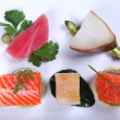 Fresh sashimi — Stock Photo #10002574
