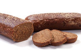 Brown long loaf — Stock Photo