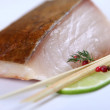 Fresh white fish — Stock Photo