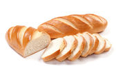 White long loaf — Stock Photo