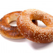 Stock Photo: Ring bagel