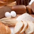 Bread bakery products — Stock Photo #10432502