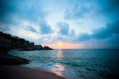Deniz üzerinde gündoğumu — Stok fotoğraf