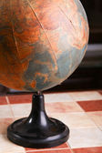 Old globe of the world — Stock Photo