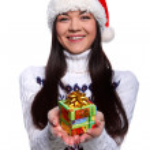 Christmass girl — Stock Photo #9812982