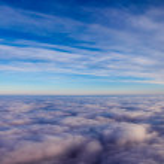 Sky cloudes — Stock Photo