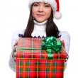 Christmass girl — Stock Photo #9883867