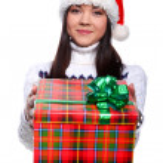 Christmass girl — Stock Photo #9883867