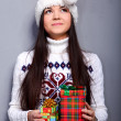 Christmass girl — Stock Photo #9883887