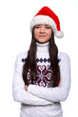 Christmass girl — Stock Photo
