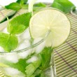 Stock Photo: Mojito cocktail