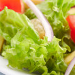 Salad background - Stock Photo