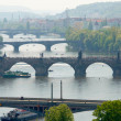 Prague's bridges - Stock Photo