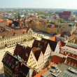 Wroclaw town market - Stock Photo