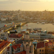 Royalty-Free Stock Photo: Istanbul Sunset Panorama
