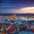 Istanbul Sunset Panorama — Stock Photo #8934123