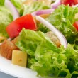Salad background — Stock Photo #9345760