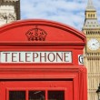 London Red Telephone Booth — Stock Photo #8111268