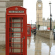London Red Telephone Booth — Stock Photo #8111387