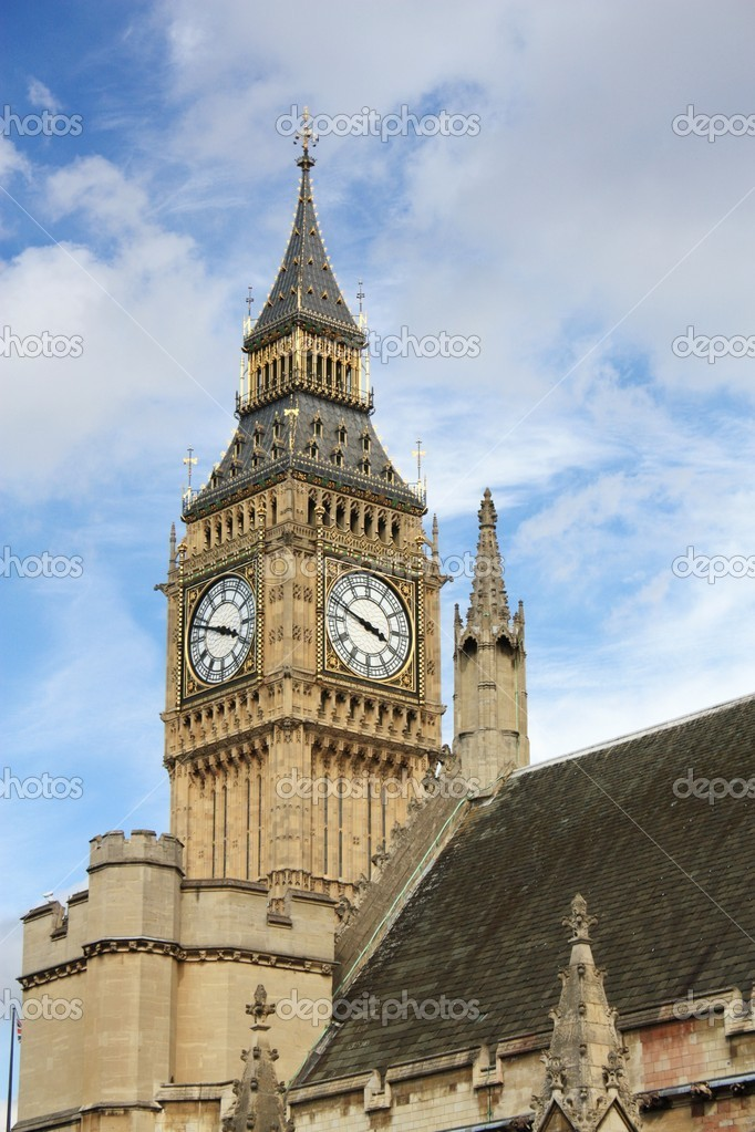London Parliament and Big Ben — Stock Photo #8111163