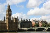 London Parliament and Big Ben — Stock Photo