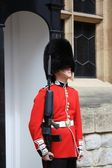 Guard of Tower of London — Stock Photo