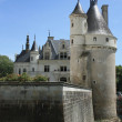 Chateau de Chenonceau. Loire. France - Stock Photo